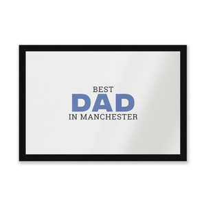 Best Dad In Manchester Entrance Mat
