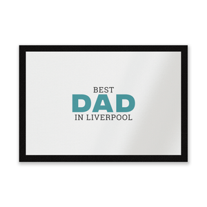Best Dad In Liverpool Entrance Mat