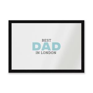 Best Dad In London Entrance Mat