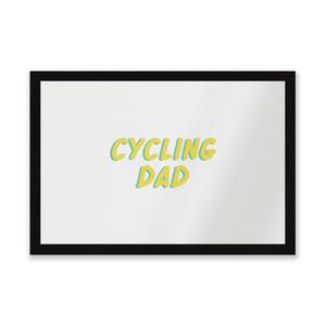 Cycling Dad Entrance Mat