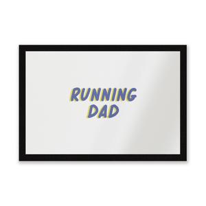Running Dad Entrance Mat