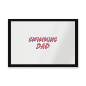 Swimming Dad Entrance Mat