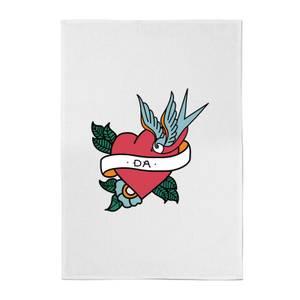 Da Heart Cotton Tea Towel