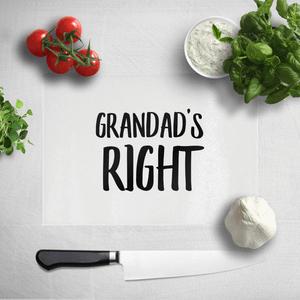 Grandad's Right Chopping Board