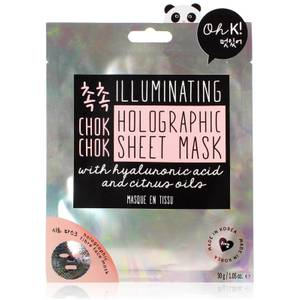 Oh K! Chok Chok Illuminating Holographic Sheet Mask 25g