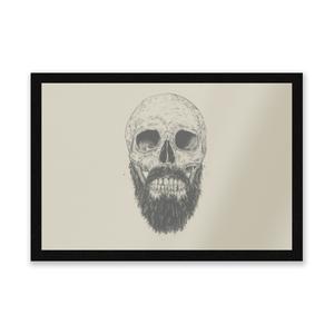 Bearded Skull Entrance Mat