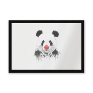 Red Nosed Panda Entrance Mat
