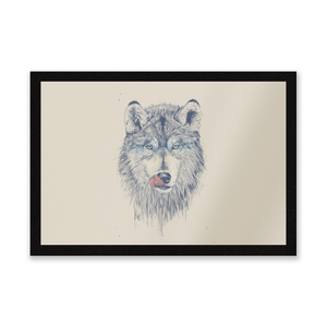 Wolf Eyes Entrance Mat