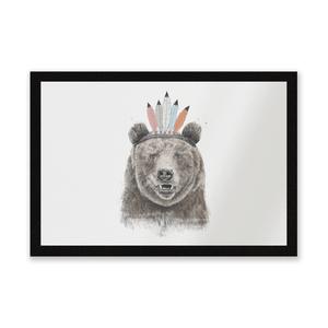 Native Bear Entrance Mat