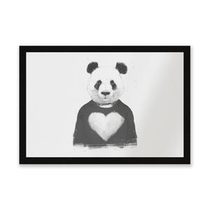 Panda Love Entrance Mat