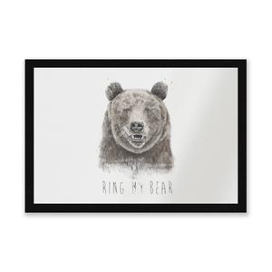Ring My Bear Entrance Mat