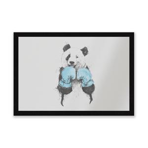 Boxing Panda Entrance Mat