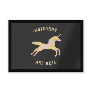 Unicorns Are Real Entrance Mat