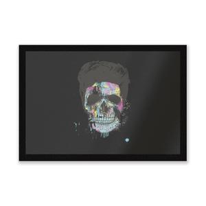 Colourful Skull Entrance Mat