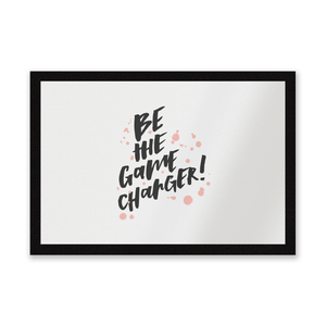 Be The Game Changer Entrance Mat