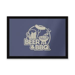 Beer & BBQ Entrance Mat