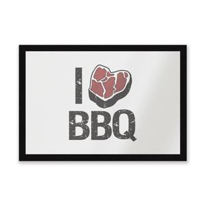 I Love BBQ Entrance Mat