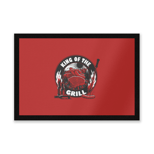 King Of The Grill Entrance Mat