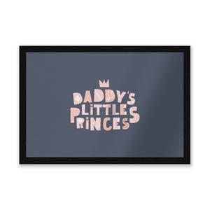Daddy's Little Princes Entrance Mat