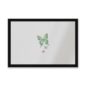 Pocket Butterflies Entrance Mat
