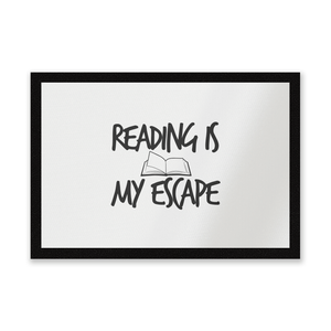 Reading Is My Escape Entrance Mat
