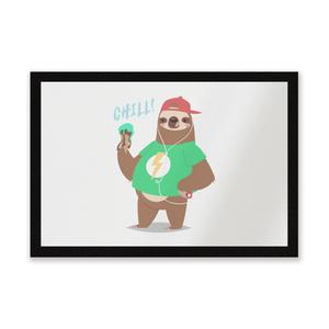 Sloth Chill Entrance Mat