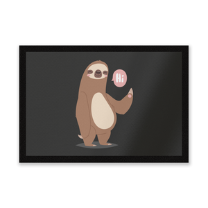 Sloth Hi Entrance Mat