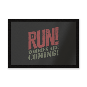 RUN! Zombies Are Coming! Entrance Mat