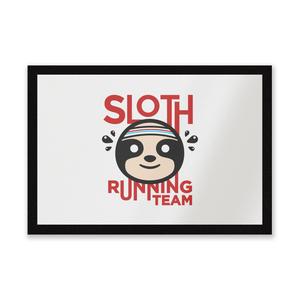 Sloth Running Team Entrance Mat