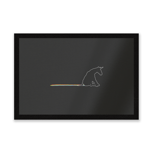 Unicorn Skid Mark Entrance Mat
