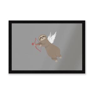 Sloth Cupid Entrance Mat
