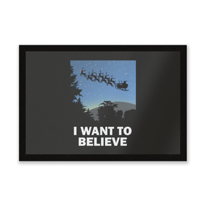 I Want To Believe Entrance Mat