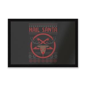 Hail Santa Entrance Mat