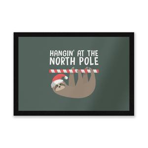 Hangin' At The North Pole Entrance Mat