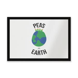 Peas On Earth Entrance Mat