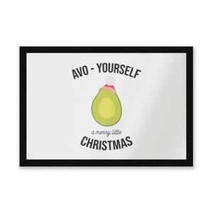 Avo-Yourself A Merry Little Christmas Entrance Mat