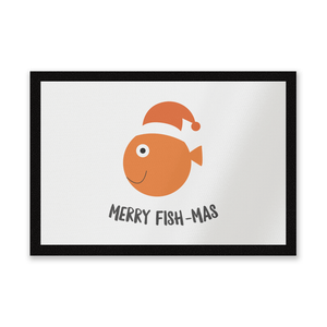 Merry Fish-Mas Entrance Mat