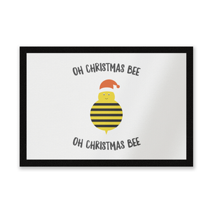 Oh Christmas Bee Oh Christmas Bee Entrance Mat
