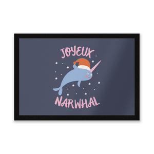 Joyeux Narwhal Entrance Mat