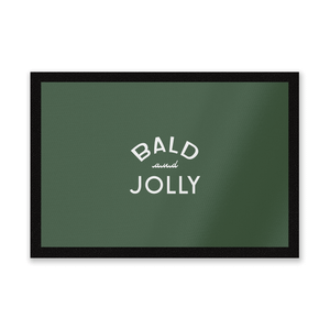 Bald And Jolly Entrance Mat