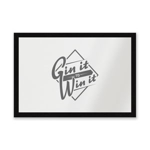 Gin It To Win It Entrance Mat
