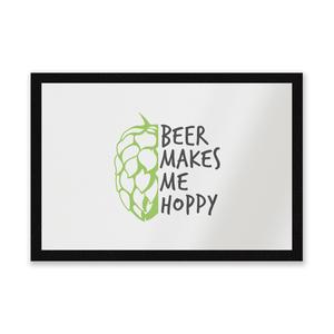 Beer Makes Me Hoppy Entrance Mat