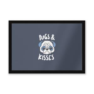 Pugs & Kisses Entrance Mat