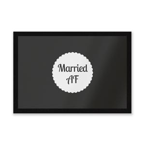 Married AF Entrance Mat