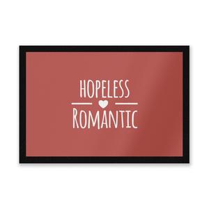 Hopeless Romantic Entrance Mat