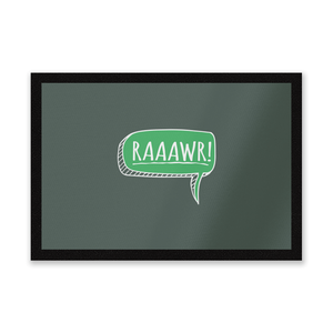 Raaawr Entrance Mat