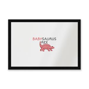 Babysaurus Entrance Mat