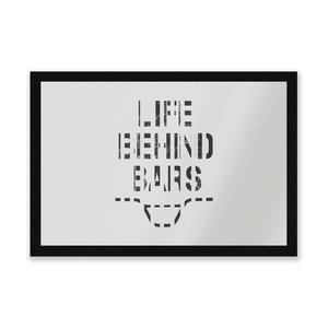 Life Behind Bars Entrance Mat