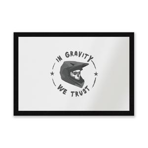 In Gravity We Trust BMX Entrance Mat