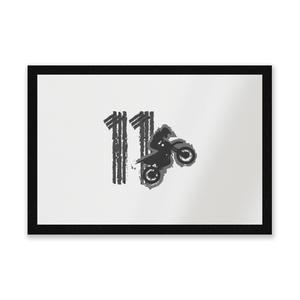 11 Motocross Entrance Mat